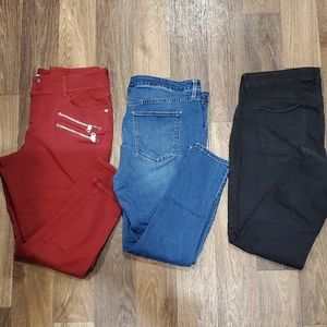 Lot of 3 jeans